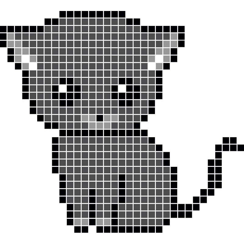 Pixel Art En Chat